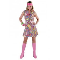 Location costume Hippie Carol adulte