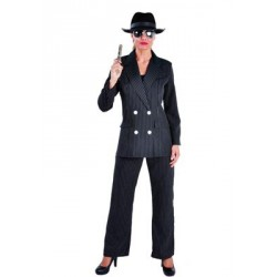 Location costume gangster femme