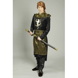 Location costume Prince noir adulte