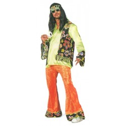 Location costume Hippie Flower adulte