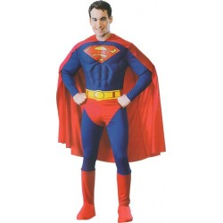 Location costume Superman adulte