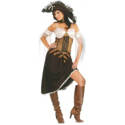 Location costume Pirate des mers Femme