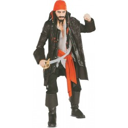 Location costume Pirate Capitaine Cuttroat adulte