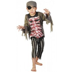 Costume Pirate Zombie Enfant