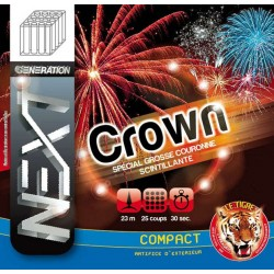 Feux d'artifice Compact Crown