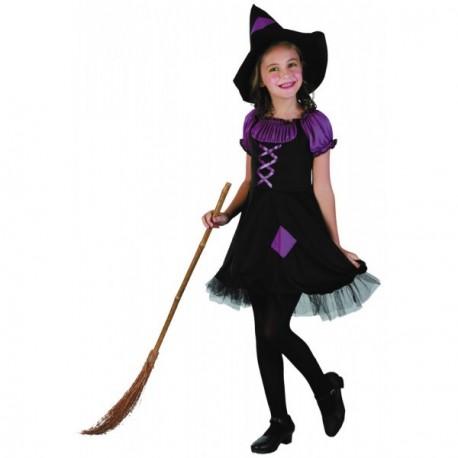 Costume Sorcière Violette