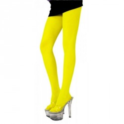 Collants Fluo jaune