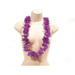 Collier Hawaï Violet