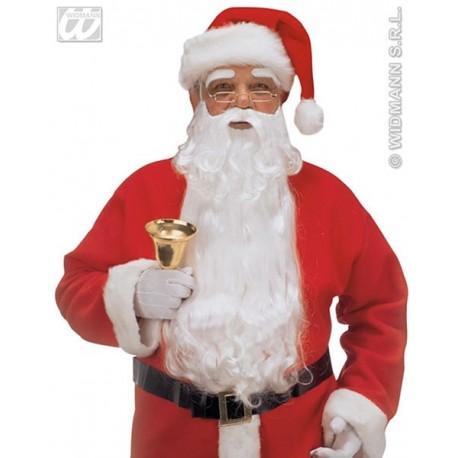 Barbe Père Noël Nylon + Sourcils