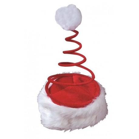 Bonnet Père Noël Ressort