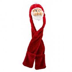 Bonnet Père Noël Echarpe Moufles