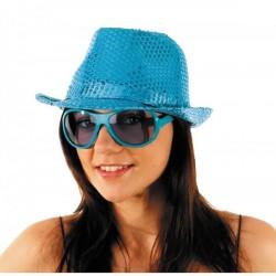 Borsalino Sequin Turquoise