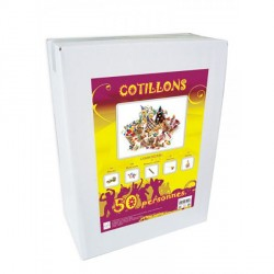 Kit Cotillons 50 pers. Multicolore