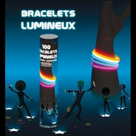Bracelets Fluo Multi x100