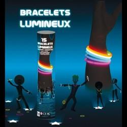 Bracelets Fluo Multi x15