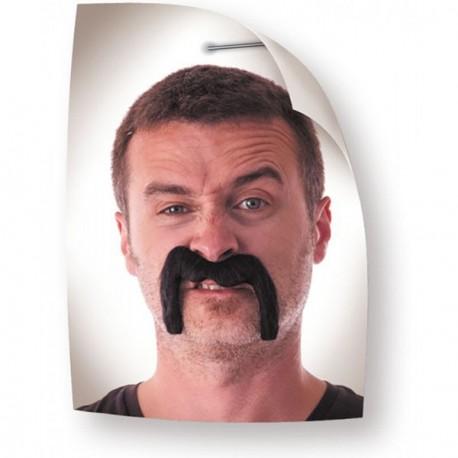 Moustache Watson noire