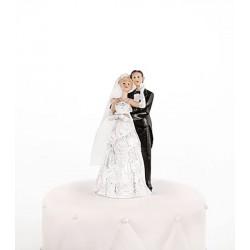 Figurine couple mariés