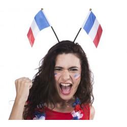 Serre tête drapeau français