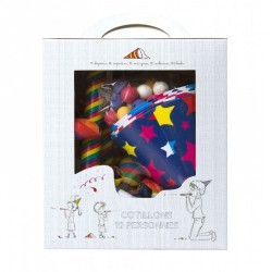 Kit Cotillons 10 pers. Multicolore
