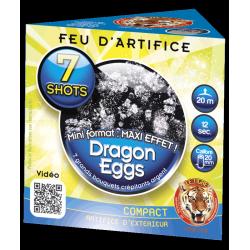 Feux d'artifice Dragon eggs 7 shots
