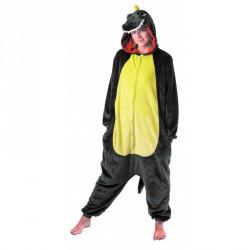 costume Kigurumi Dino vert