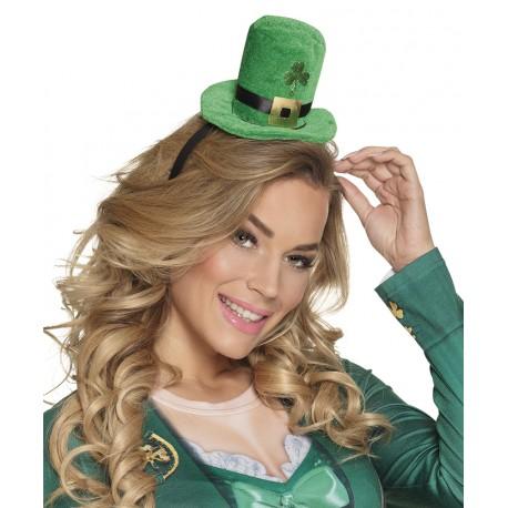Serre tête chapeau St Patrick