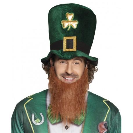 Chapeau Haut de Forme + barbe St Patrick