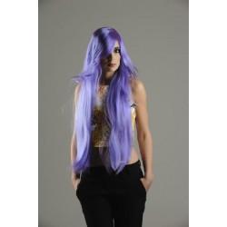 Perruque Manga violette