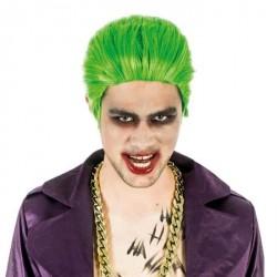 Perruque Joker verte