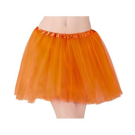 Tutu orange adulte
