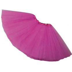 Tutu rose fuchsia adulte