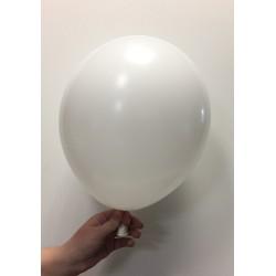 Ballon latex blanc standard x100 ø30