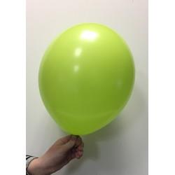 Ballon latex vert pomme standard x100 ø30