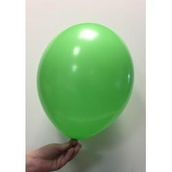 Ballon latex vert prairie standard x100 ø30