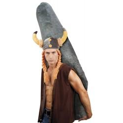 Chapeau Viking + tresses peluche