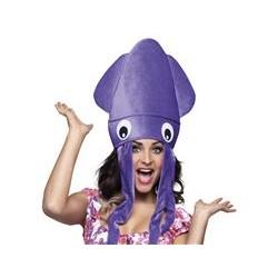 Chapeau poulpe violet adulte