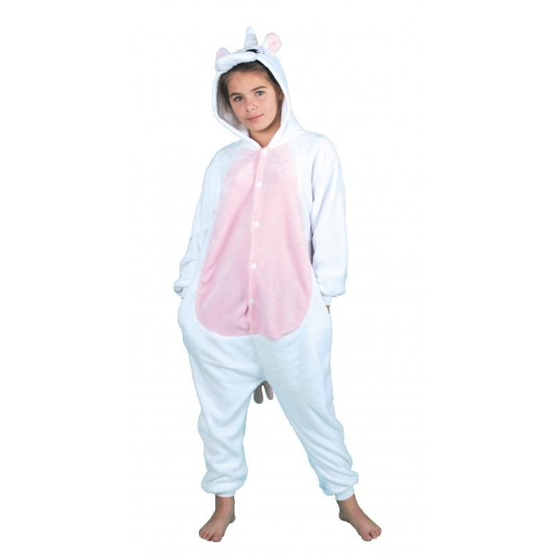 Costume Kigurumi Licorne rose enfant a83d017a7477