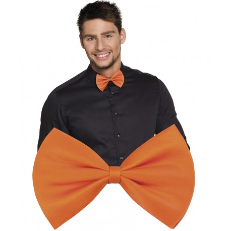 Noeud Papillon orange