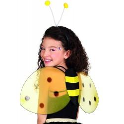 Set abeille ailes + serre tête