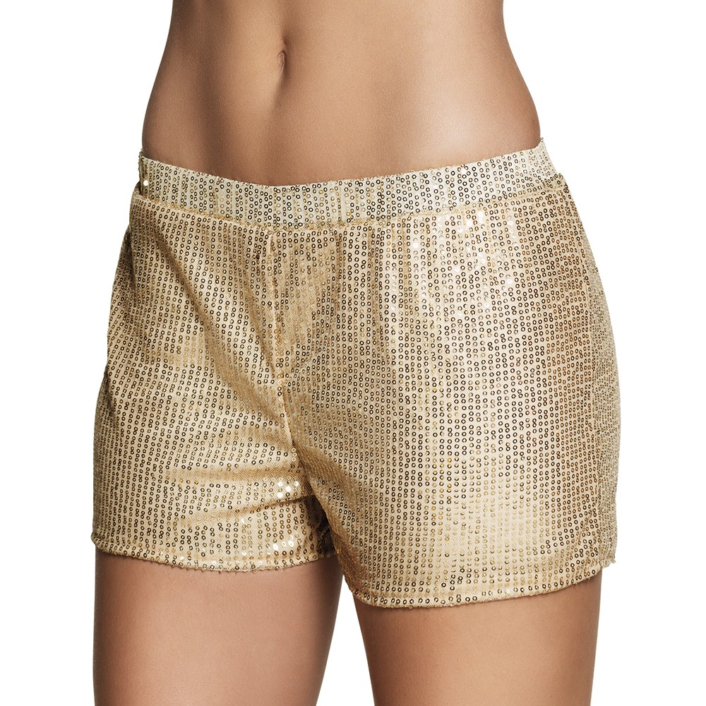 Short disco sequins or Femme