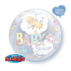 Ballon bubble Baby Shower 22""