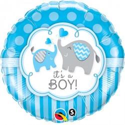 """Ballon aluminium """"Happy Birthday Mate"""" Pirate 18"""""""