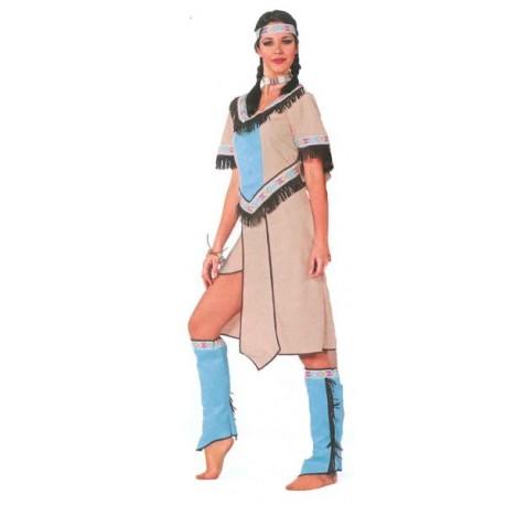 Location costume Indienne Nakoma adulte