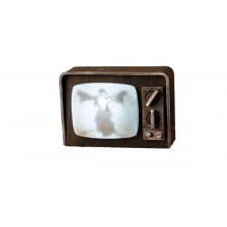 Télé Vintage lumineuse