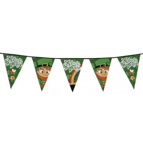Guirlande fanion St Patrick 8m