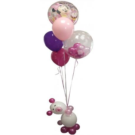 Bouquet Ballons Anniversaire Ourson