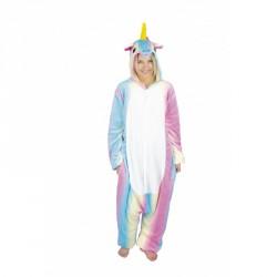 costume Kigurumi Licorne bleue