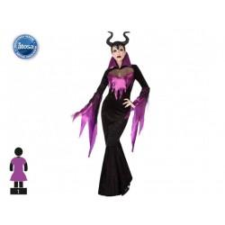 Costume Charleston noir Femme
