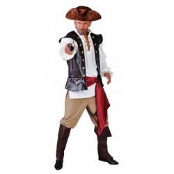 Location costume Pirate William adulte