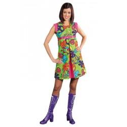 Location costume Hippie Venus Smith adulte